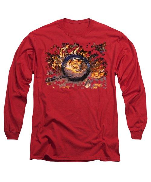 Swirly Gateway Long Sleeve T-Shirt