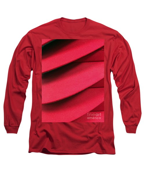 Swooshes And Shadows Long Sleeve T-Shirt