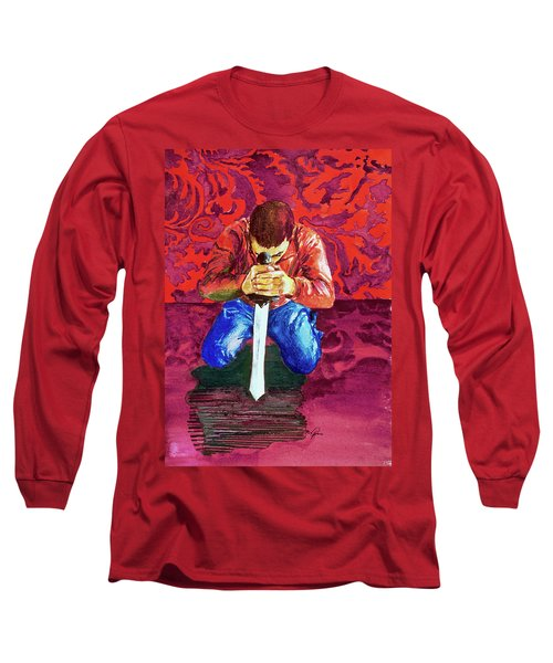 Swords On The Playground Long Sleeve T-Shirt