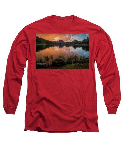 Long Sleeve T-Shirt featuring the photograph Sylvan Lake by Gary Lengyel