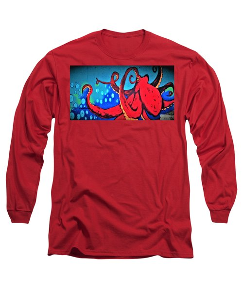 Tacoma Octopus  Long Sleeve T-Shirt