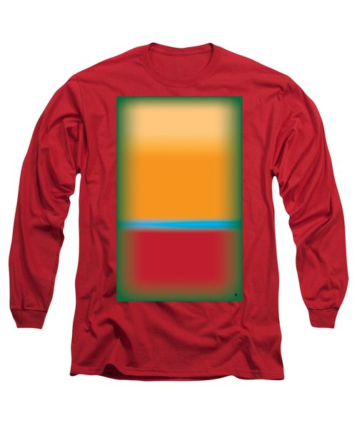 Tall Abstract Color Long Sleeve T-Shirt