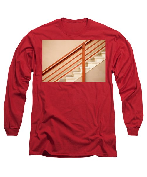 Tan Stairs Venice Beach California Long Sleeve T-Shirt