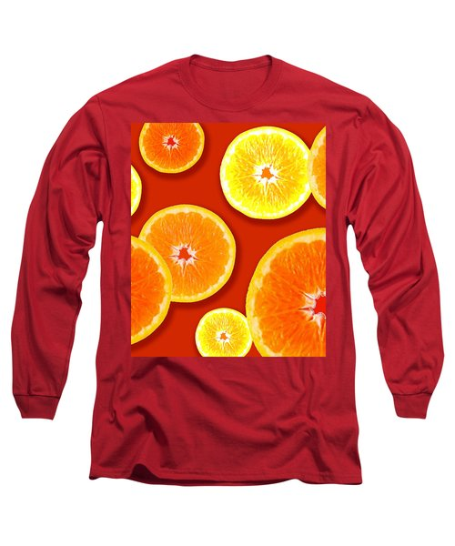 Tangerine Tango Long Sleeve T-Shirt by Tara Hutton