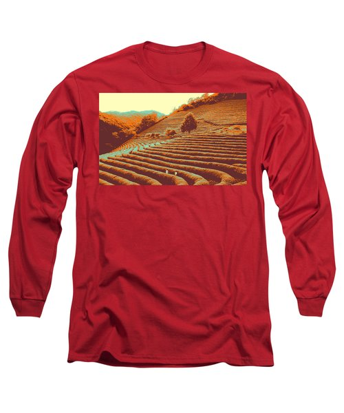 Tea Field Long Sleeve T-Shirt