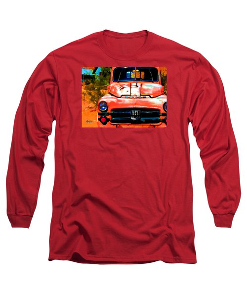 Techatticup Mine Ghost Town Nv Long Sleeve T-Shirt by Marti Green