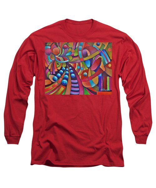 Technicolor Bloom Long Sleeve T-Shirt by Jason Williamson
