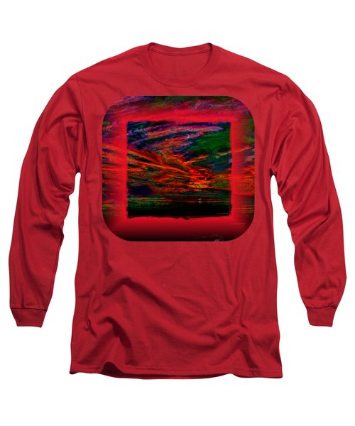 Technicolor Sunset 2 Long Sleeve T-Shirt