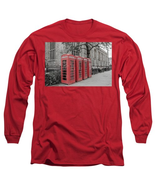 Telephone Boxes Long Sleeve T-Shirt
