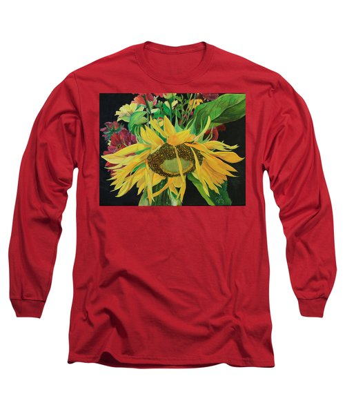 Long Sleeve T-Shirt featuring the painting Tender Mercies by Jane Autry