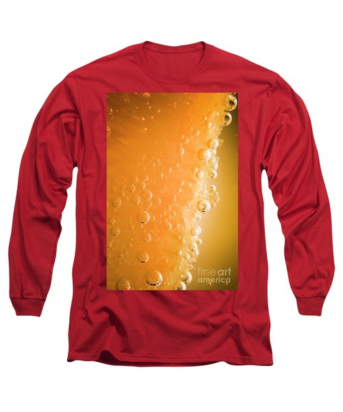Tequila Sunrise Background Long Sleeve T-Shirt