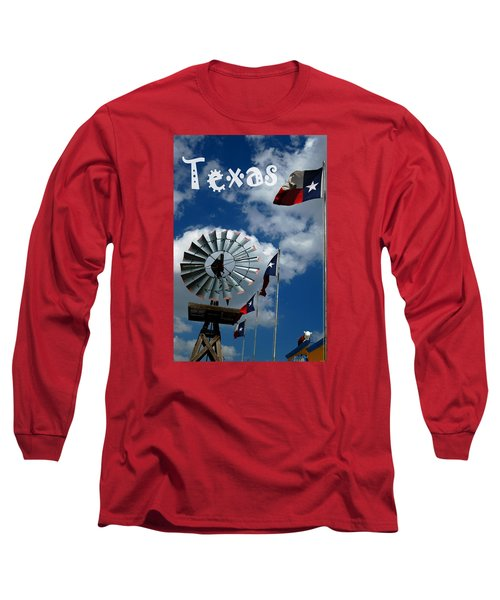 Texas Long Sleeve T-Shirt by Bob Pardue