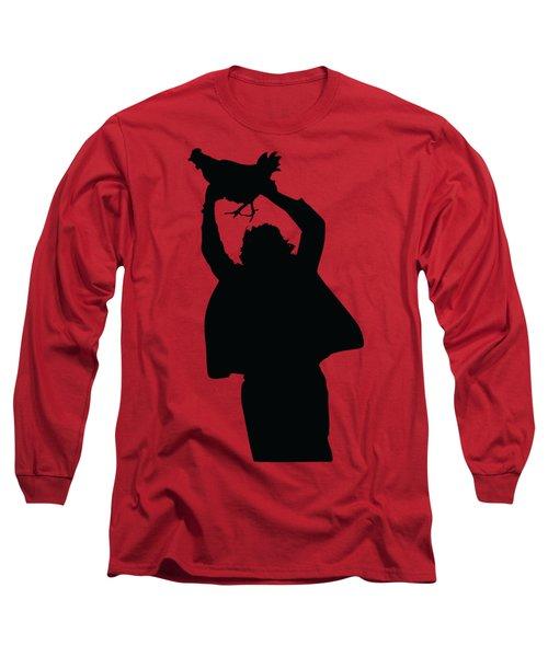 Texas Chicken Massacre Long Sleeve T-Shirt