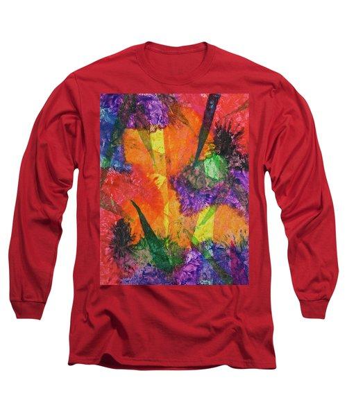 Texture Garden Long Sleeve T-Shirt