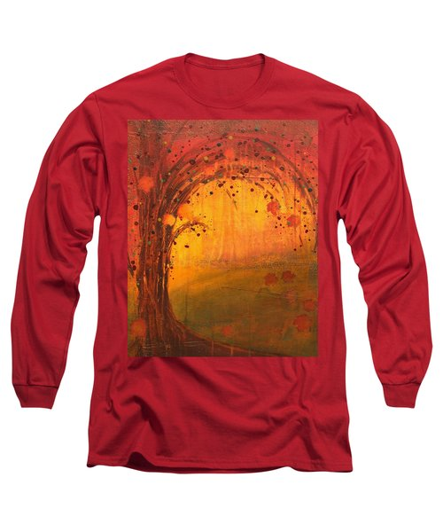 Textured Fall - Tree Series Long Sleeve T-Shirt