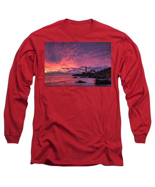 Thanksgiving Sunrise Long Sleeve T-Shirt