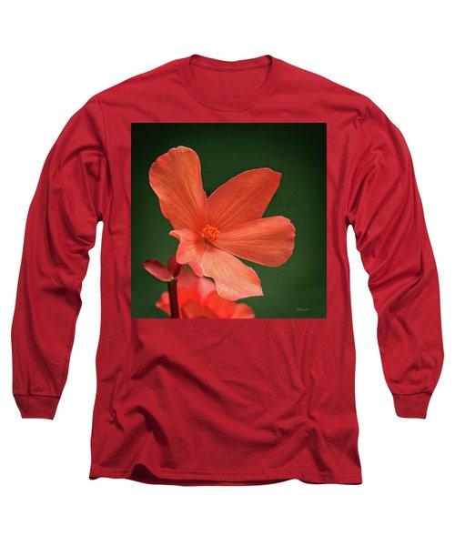 That Orange Flower Long Sleeve T-Shirt