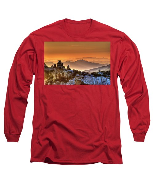 The Ahh Moment Long Sleeve T-Shirt by Lynn Geoffroy