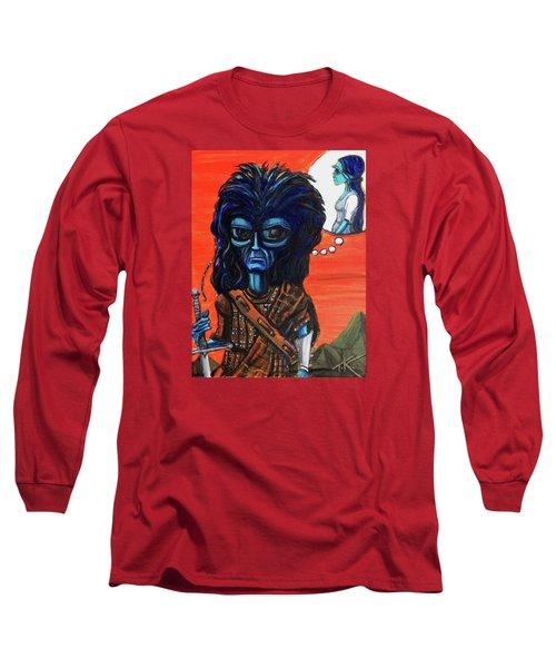 The Alien Braveheart Long Sleeve T-Shirt