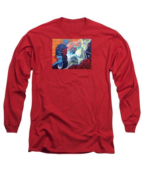 The Alien Scarlet Begonias Long Sleeve T-Shirt