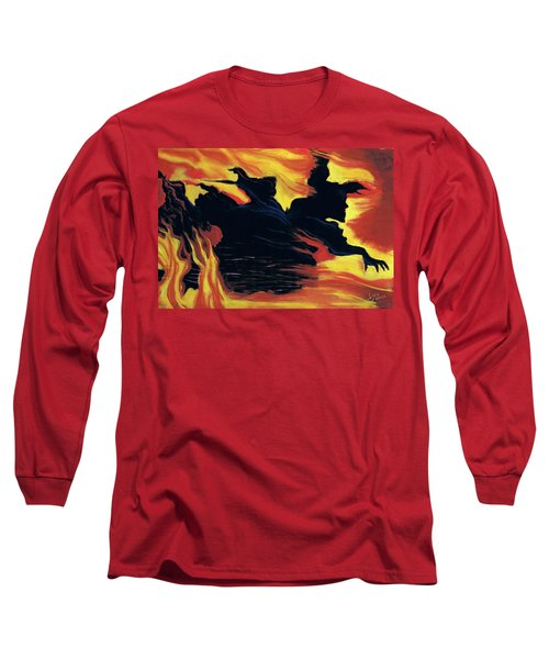 The Arrival Of The Wicked Long Sleeve T-Shirt
