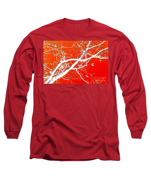 The Asian Tree Long Sleeve T-Shirt by Donna Bentley