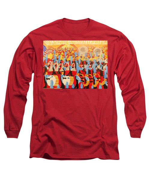 The Band Long Sleeve T-Shirt by Rodger Ellingson
