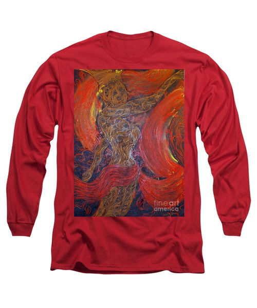 The Belly Dancer Long Sleeve T-Shirt
