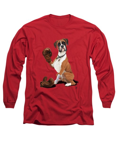 The Boxer Colour Long Sleeve T-Shirt by Rob Snow