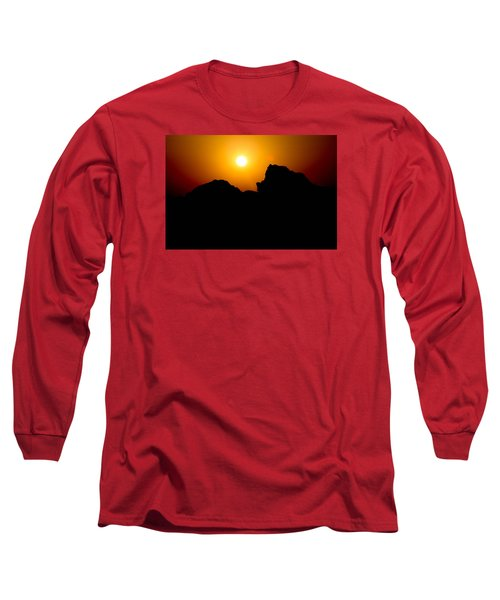 Long Sleeve T-Shirt featuring the photograph The Burn by Jez C Self