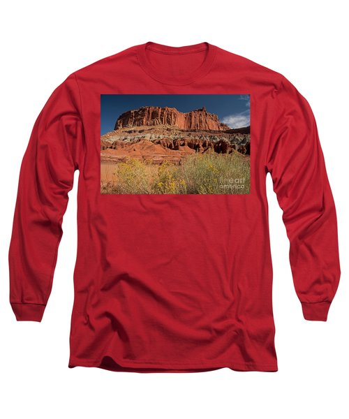 The Castle In Capital Reef Long Sleeve T-Shirt