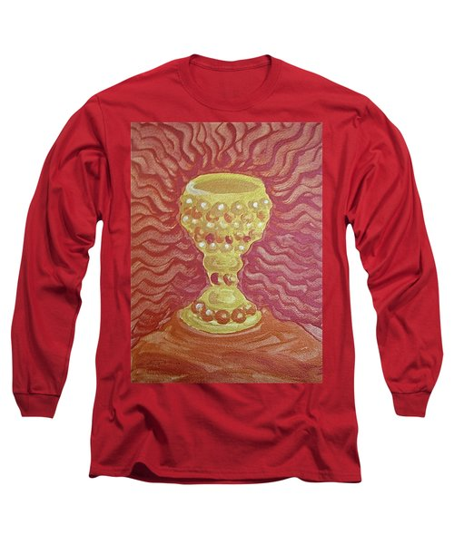 The Chalice Or Holy Grail Long Sleeve T-Shirt
