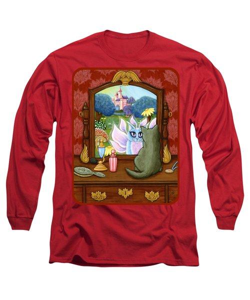 The Chimera Vanity - Fantasy World Long Sleeve T-Shirt