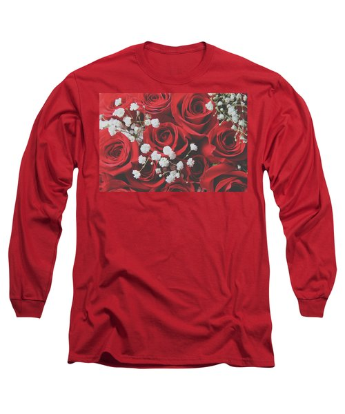 Long Sleeve T-Shirt featuring the photograph The Color Of Love by Laurie Search