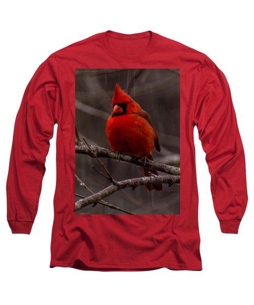 The Crimson Suit Long Sleeve T-Shirt