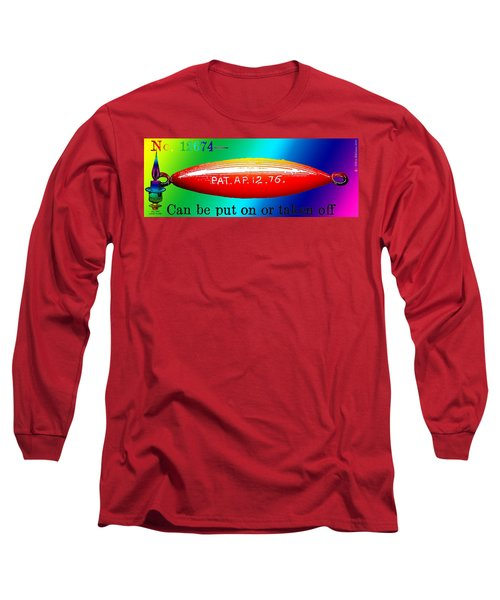 The Dirigible Sinker Long Sleeve T-Shirt by Eric Edelman