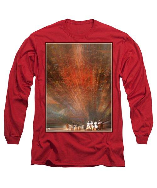 The Drumbeat Rising Long Sleeve T-Shirt