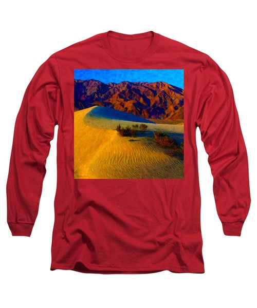 The Dunes At Dusk Long Sleeve T-Shirt