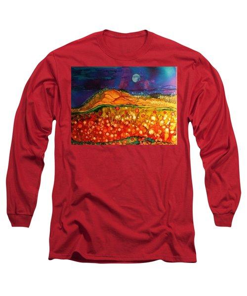 The Dunes At Night Long Sleeve T-Shirt