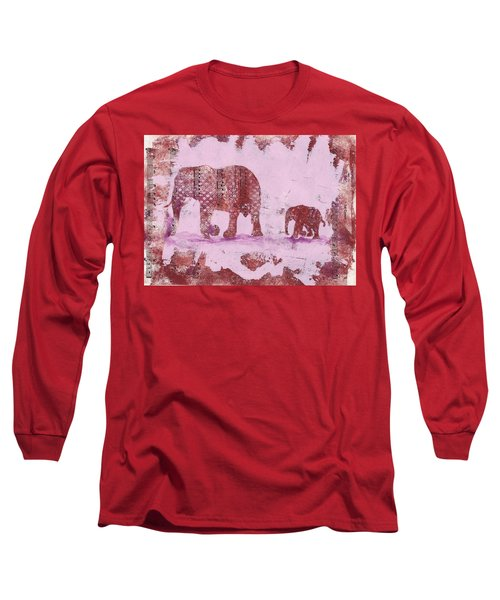 The Elephant March Long Sleeve T-Shirt