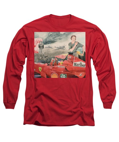The Enigma Of Erich Hartmann Long Sleeve T-Shirt