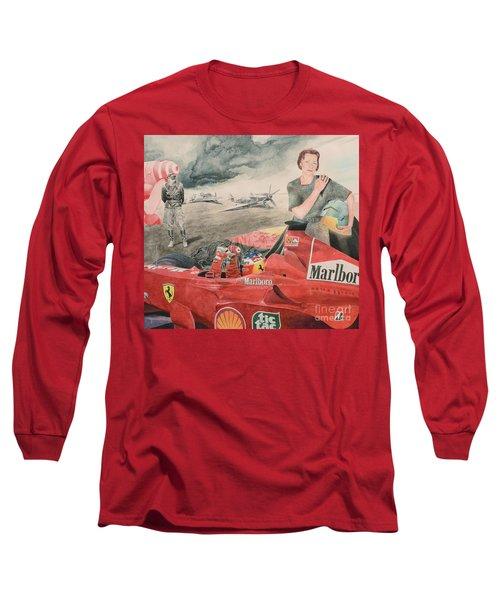 The Enigma Of Erich Hartmann Long Sleeve T-Shirt