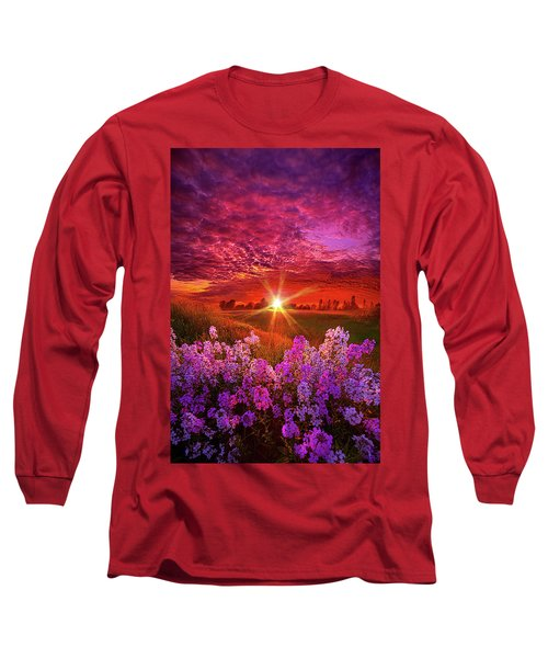 Long Sleeve T-Shirt featuring the photograph The Everlasting by Phil Koch