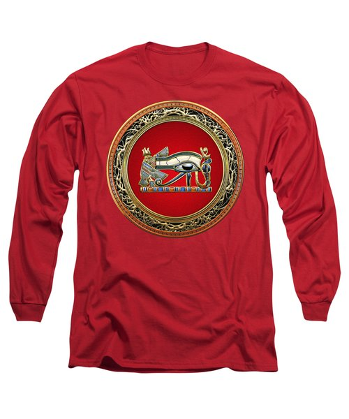 The Eye Of Horus Long Sleeve T-Shirt