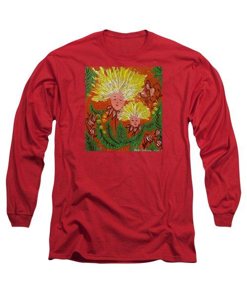 Family Long Sleeve T-Shirt by Rita Fetisov