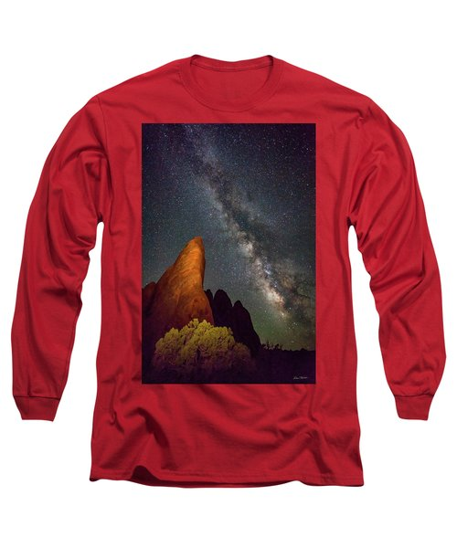 The Fins At Sand Dune Arch Long Sleeve T-Shirt