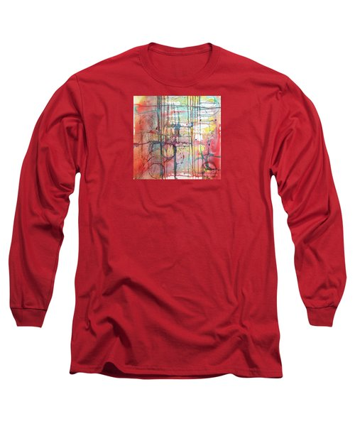 The Fire Within Long Sleeve T-Shirt by Rebecca Davis