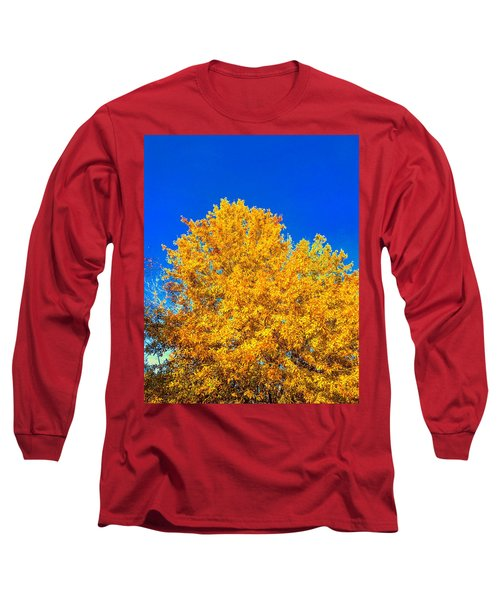 The Flare Of Fall On A Clear Day Long Sleeve T-Shirt