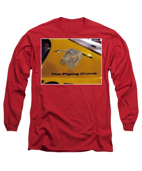 The Flying Crane Long Sleeve T-Shirt