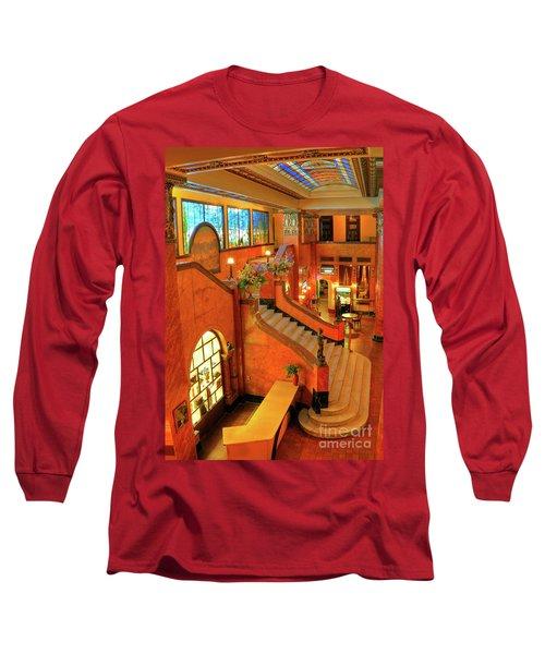 The Gadsden Hotel In Douglas Arizona Long Sleeve T-Shirt